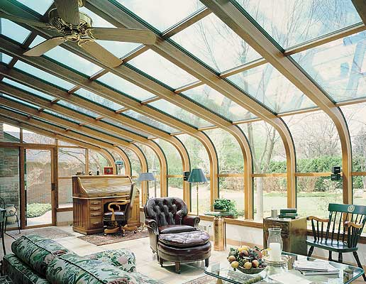 Home Office - Sunroom Design