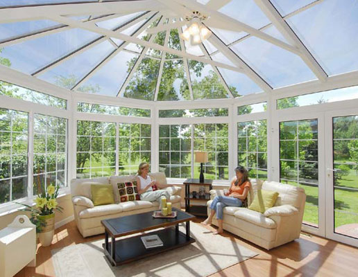 Ultra Living English Style Conservatory Victorian Roof